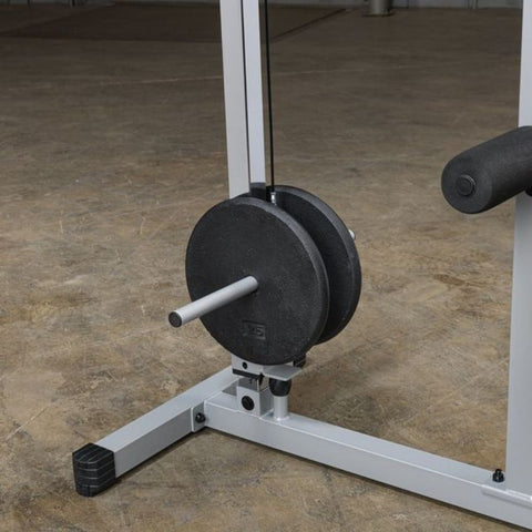 Body-Solid Powerline PLM180X Lat Pull Low Row Machine Plates Inner