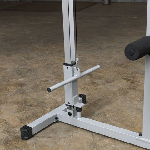 Body-Solid Powerline PLM180X Lat Pull Low Row Machine Smaller Plate Holder