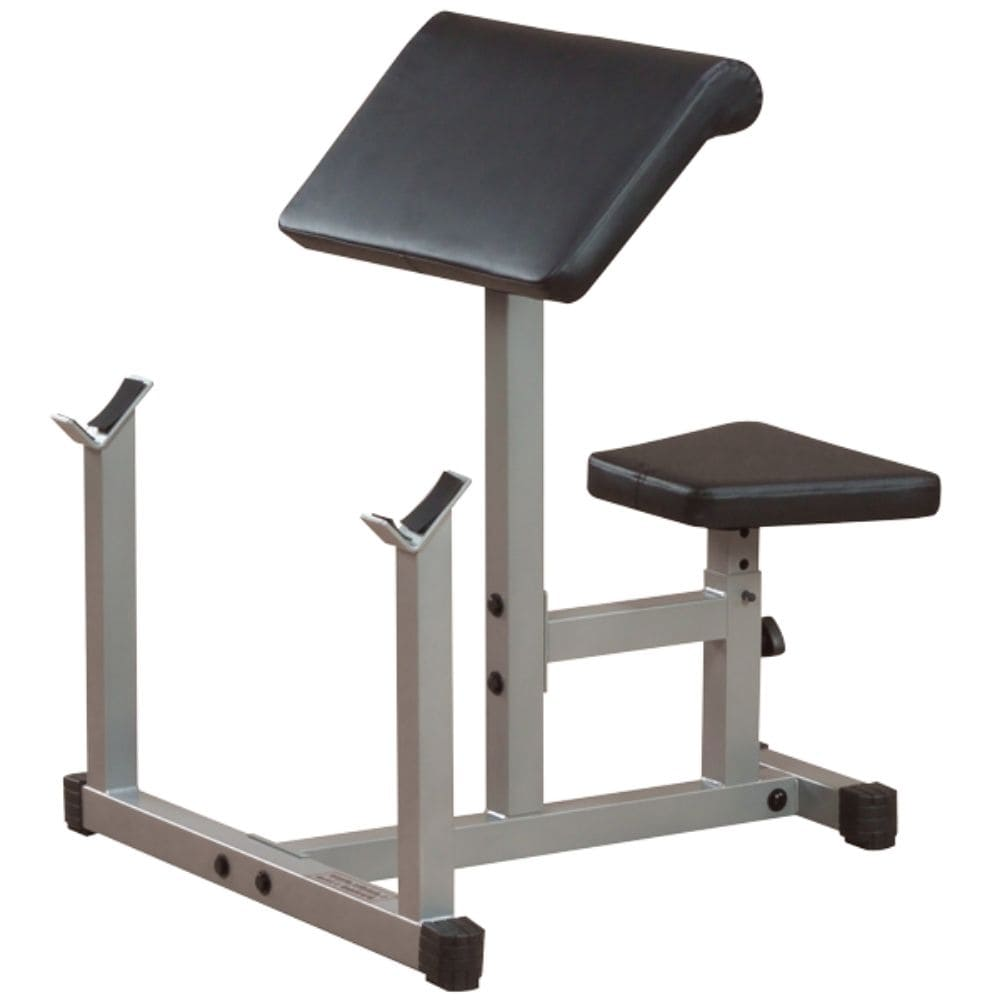 Body-Solid Powerline PPB32X Preacher Curl Bench 3D View