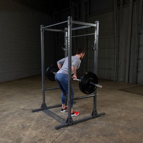 Image of Body-Solid Powerline PPR1000 Power Rack Barbell Row