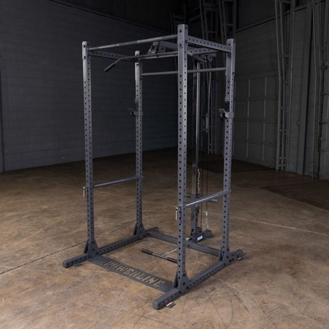 Image of Body-Solid Powerline PPR1000 Power Rack Front Side View