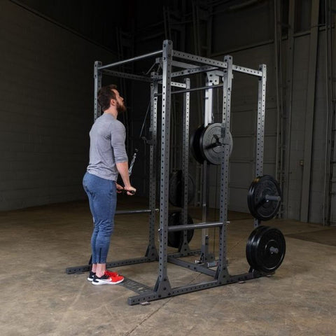 Image of Body-Solid Powerline PPR1000 Power Rack Triceps Press Down