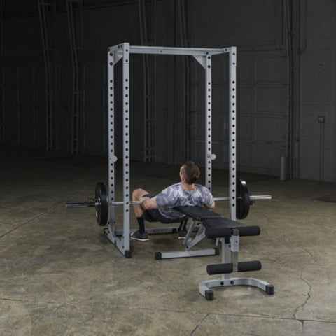 Body-Solid Powerline PPR200X Power Rack Exercise Figure 1