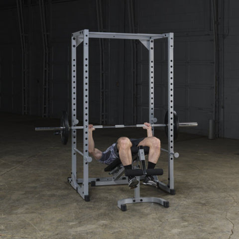 Body-Solid Powerline PPR200X Power Rack Exercise Figure 3