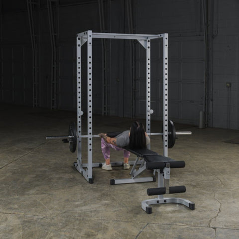 Body-Solid Powerline PPR200X Power Rack Exercise Figure 4