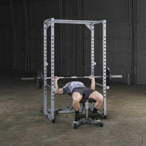 Body-Solid Powerline PPR200X Power Rack Exercise Figure 5