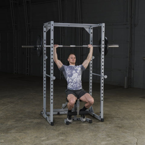 Body-Solid Powerline PPR200X Power Rack Exercise Figure 6