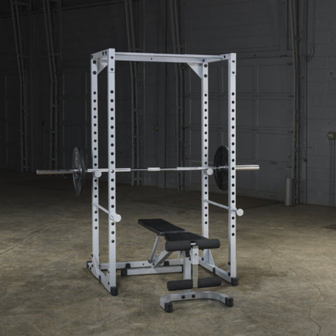 Body-Solid Powerline PPR200X Power Rack With Barbell And Bench