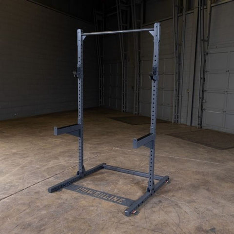 Image of Body-Solid Powerline PPR500 Half Rack Front Side View