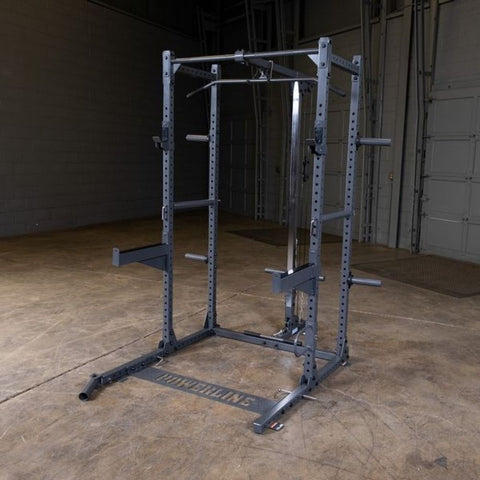 Image of Body-Solid Powerline PPR500 Half Rack With Extensions
