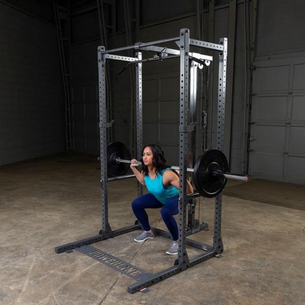 Body-Solid Powerline PPRPS Pipe Pin and Safeties Squat