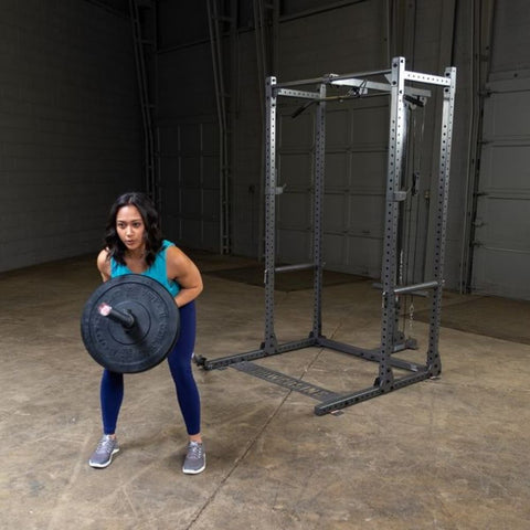 Image of Body-Solid Powerline PPRTB T-Bar Row Attachment Demo