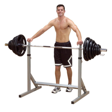 Body-Solid Powerline PSS60X Squat Rack 3D View With Model