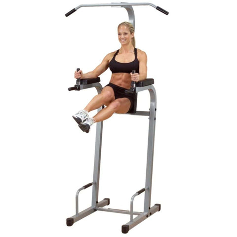 Image of Body-Solid Powerline PVKC83X Vertical Knee Raise Chin Dip Leg Lift Twist
