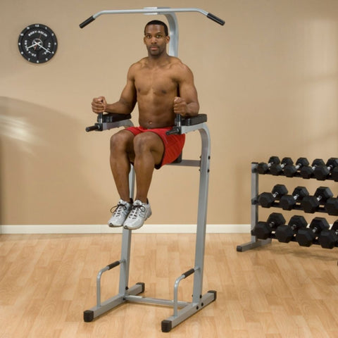 Image of Body-Solid Powerline PVKC83X Vertical Knee Raise Chin Dip Leg Lift