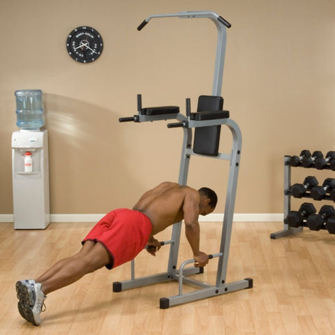Body-Solid Powerline PVKC83X Vertical Knee Raise Chin Dip Push Up