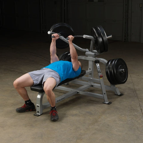 Image of Body-Solid ProClub LVBP Leverage Bench Press Exercise Figure 1