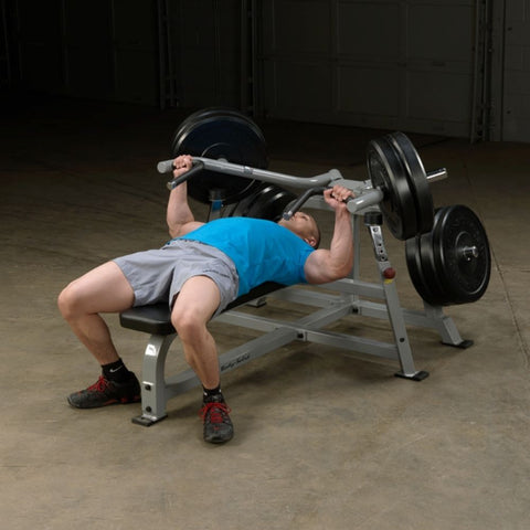 Image of Body-Solid ProClub LVBP Leverage Bench Press Exercise Figure 2