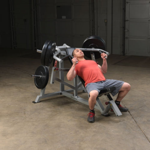 Image of Body-Solid ProClub LVIP Leverage Incline Bench Press Exercise Figure 3