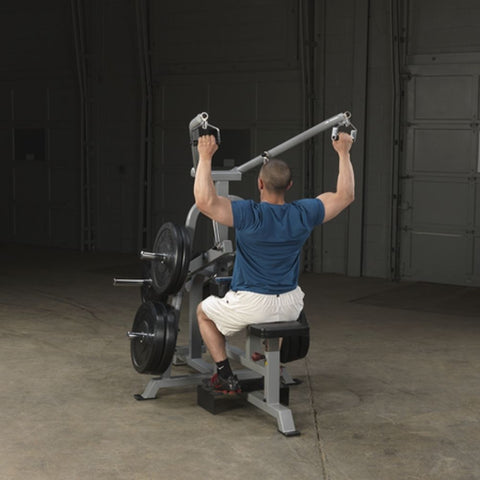 Body-Solid ProClub LVLA Leverage Lat Pulldown Exercise Figure 1