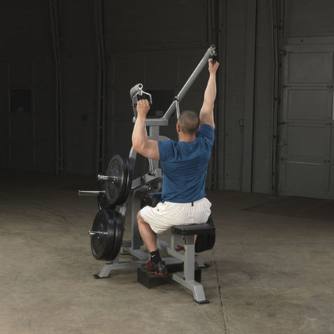 Body-Solid ProClub LVLA Leverage Lat Pulldown Exercise Figure 2