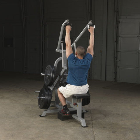 Body-Solid ProClub LVLA Leverage Lat Pulldown Exercise Figure 3