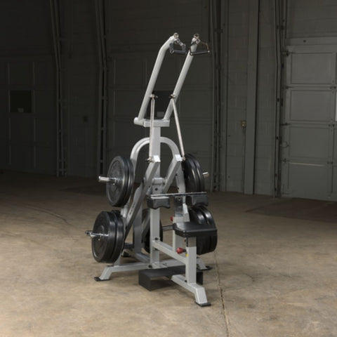 Body-Solid ProClub LVLA Leverage Lat Pulldown Top Front Side View