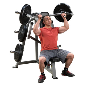 Body-Solid ProClub LVSP Leverage Shoulder Press 3D View