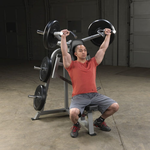Body-Solid ProClub LVSP Leverage Shoulder Press Exercise Figure 1