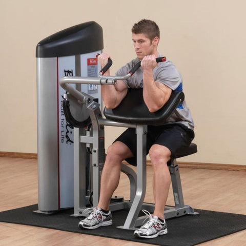 Image of Body-Solid ProClub S2AC Series II Arm Curl Machine Exercise Figure 1