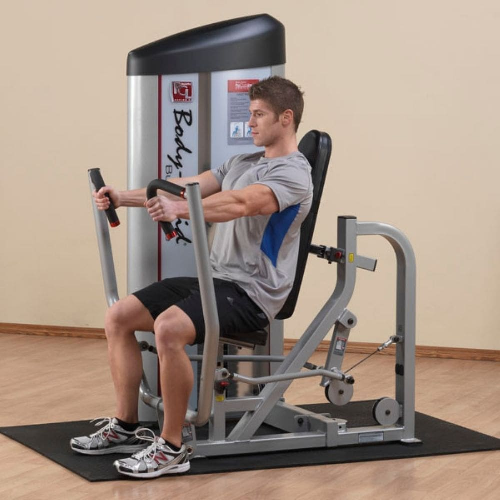 Body-Solid ProClub S2CP Series II Chest Press Side View