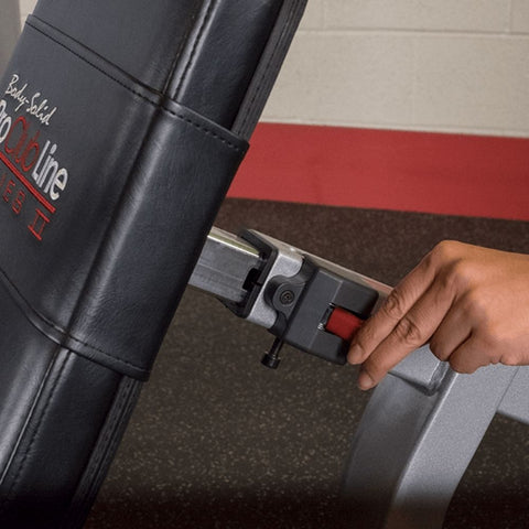 Image of Body-Solid ProClub S2LEC Series II Leg Extension Leg Curl Back Cushion Adjustment