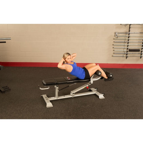 Body-Solid ProClub SAB500 Commercial Ab Bench Exercise Figure 2