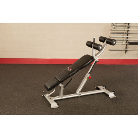 Body-Solid ProClub SAB500 Commercial Ab Bench Top Side View