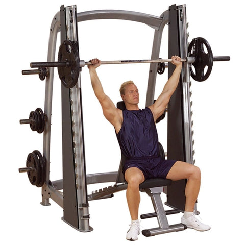 Body-Solid ProClub SCB1000 Counter Balanced Smith Machine 3D View