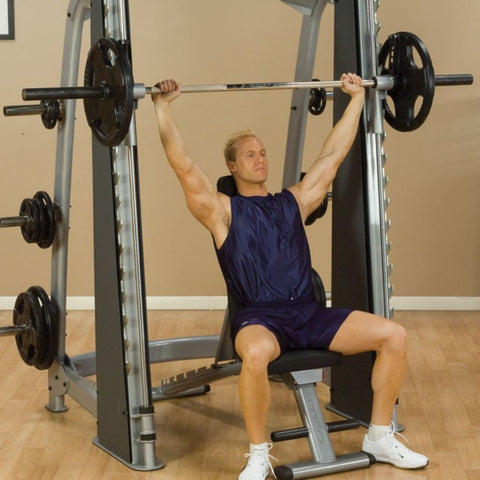 Image of Body-Solid ProClub SCB1000 Counter Balanced Smith Machine Should Press