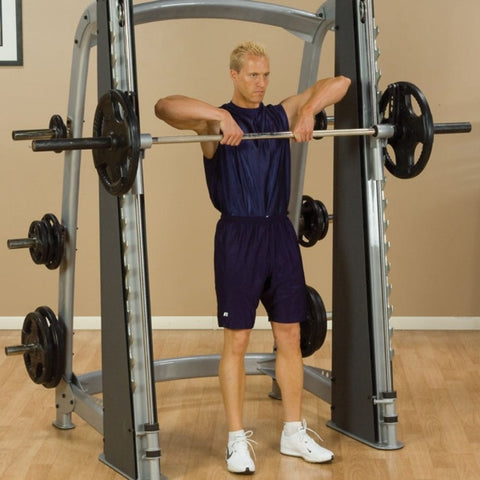 Image of Body-Solid ProClub SCB1000 Counter Balanced Smith Machine Upright Row