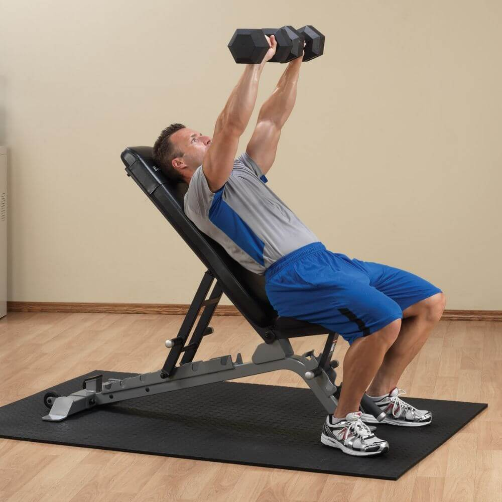 Body-Solid ProClub SFID325 Adjustable FID Bench Inclined Press