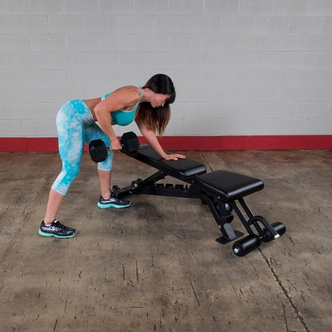Body-Solid ProClub SFID425 FID Adjustable Bench Lifting Over