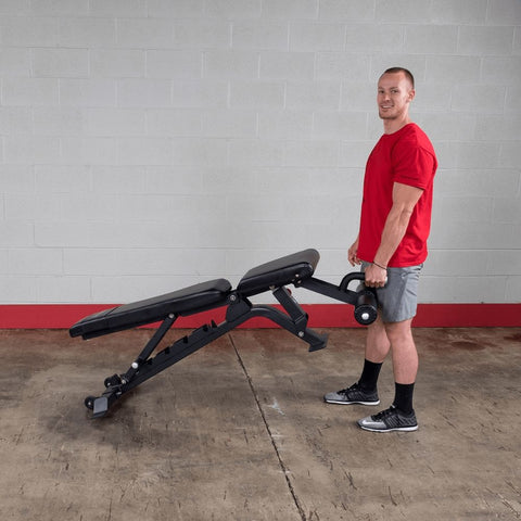 Image of Body-Solid ProClub SFID425 FID Adjustable Bench Moving