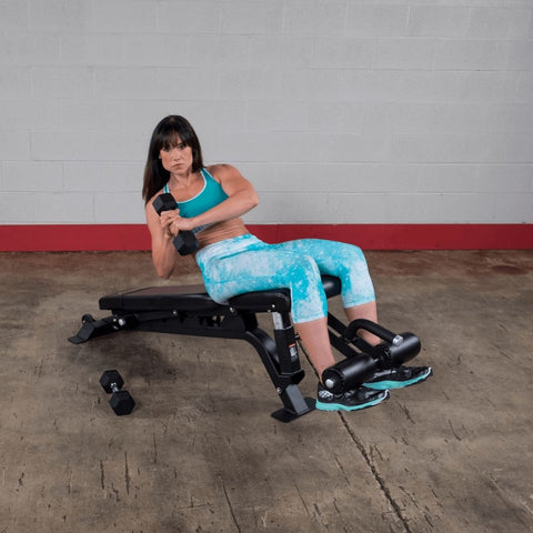 Image of Body-Solid ProClub SFID425 FID Adjustable Bench Oblique Crunch