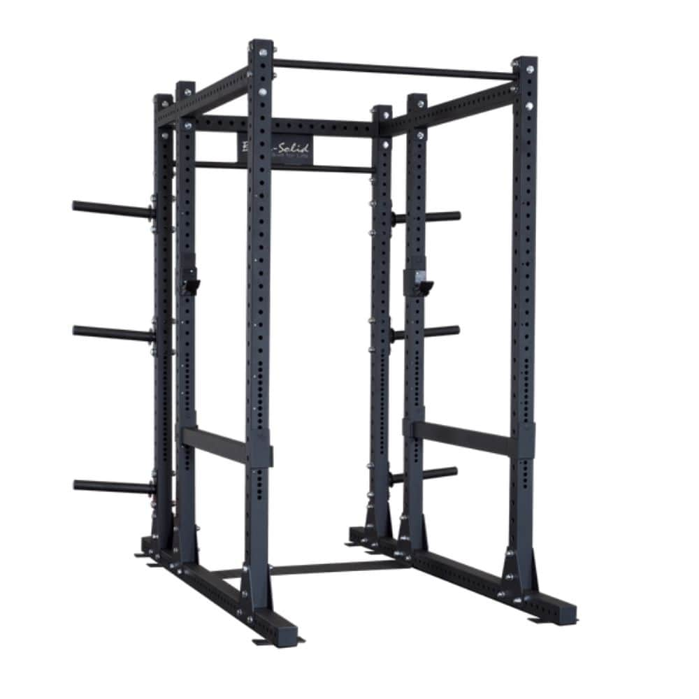 Body-Solid ProClub SPR1000BACK Commercial Extended Power Rack 3D View