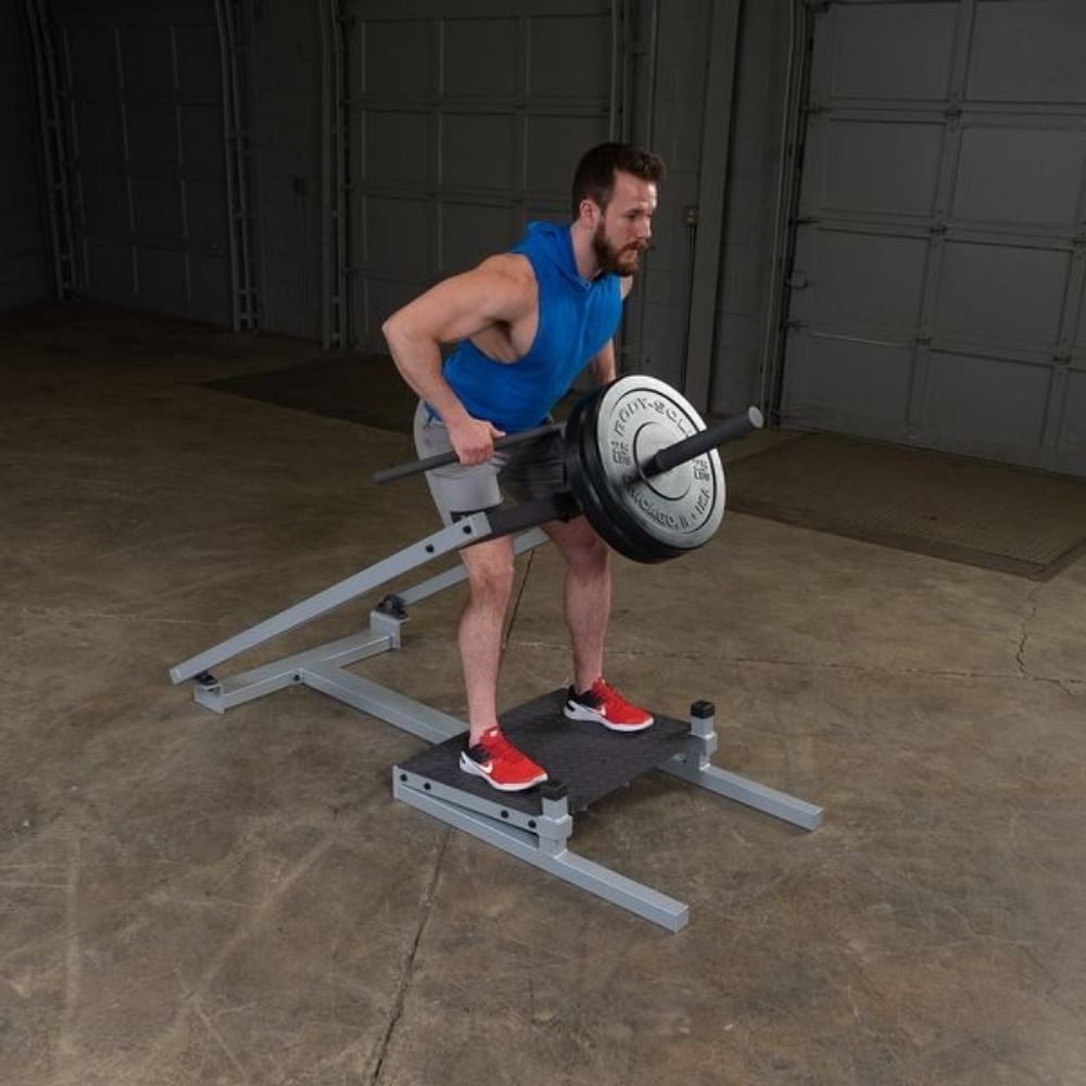 Body-Solid ProClub STBR500 T-Bar Row 2 Hands Lift With Bar