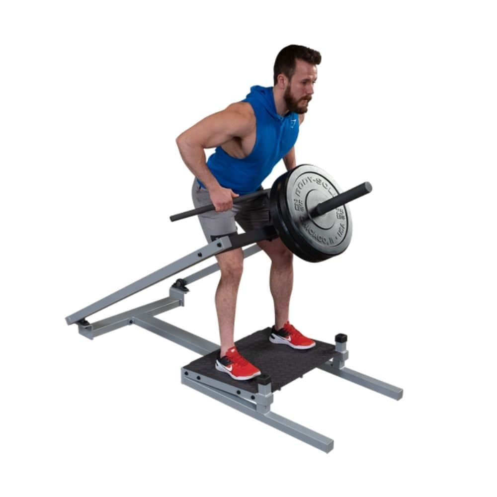 Body-Solid ProClub STBR500 T-Bar Row 3D View