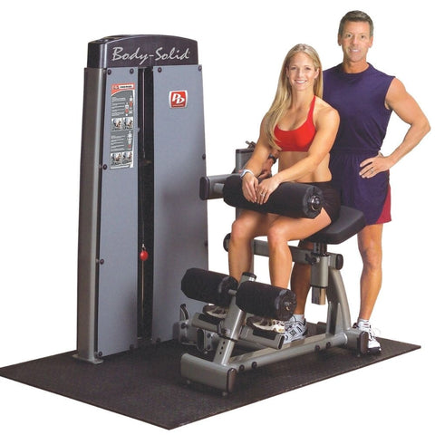 Body-Solid Pro Dual DABB-SF Commercial Ab and Back Machine Sitting And Standing