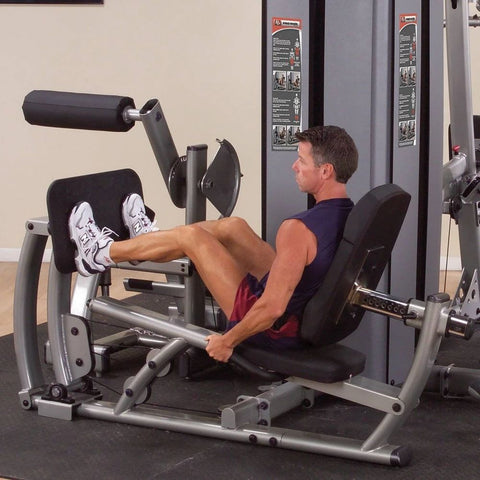 Body-Solid Pro Dual DCLP-SF Commercial Leg Press and Calf Extension Machine 3D View Close Up