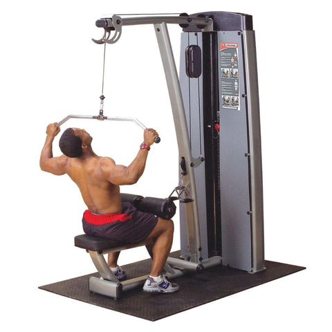 Image of Body-Solid Pro Dual DLAT-SF Commercial Rated Lat Pull Down Lat Pull