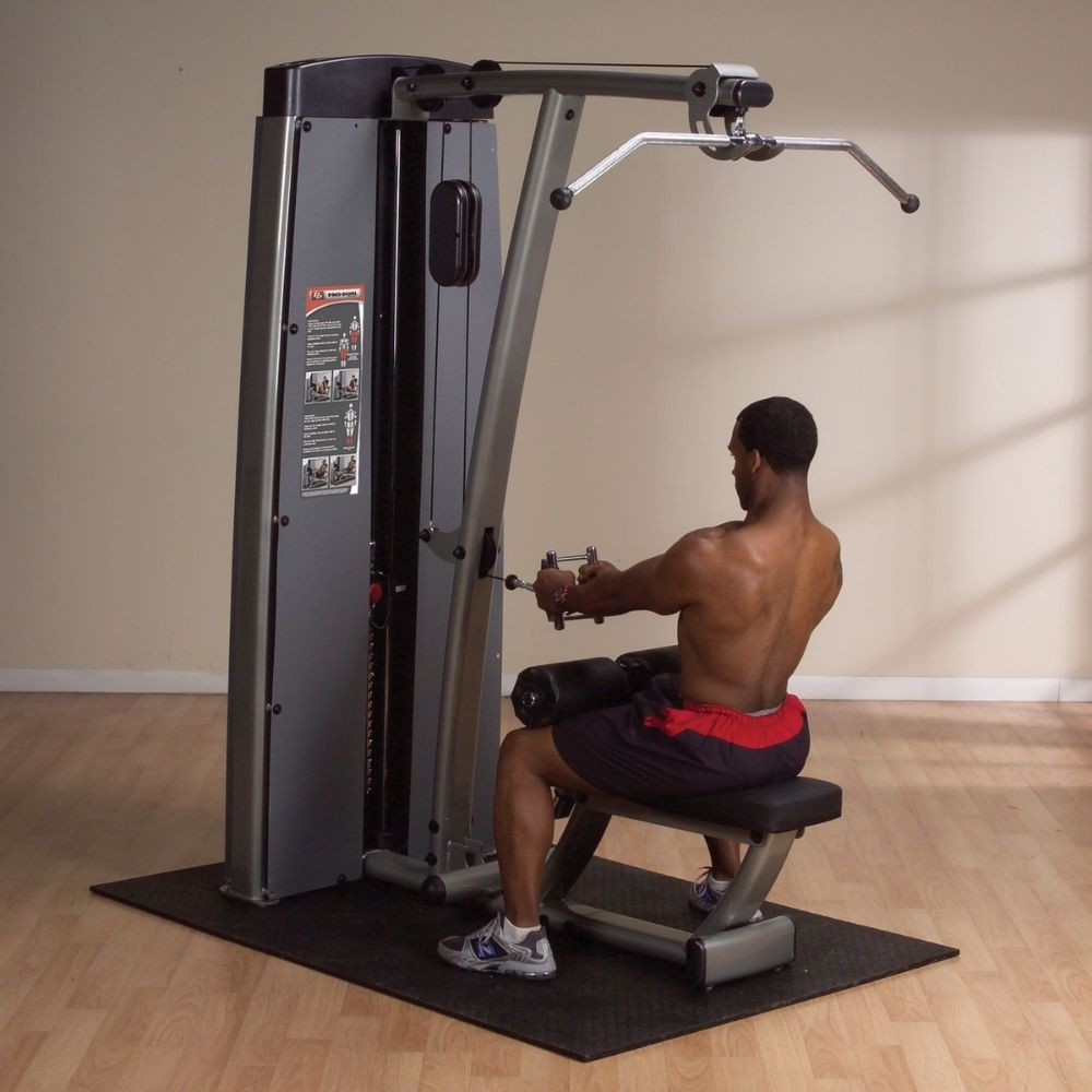 Body-Solid Pro Dual DLAT-SF Commercial Rated Lat Pull Down Seated Row