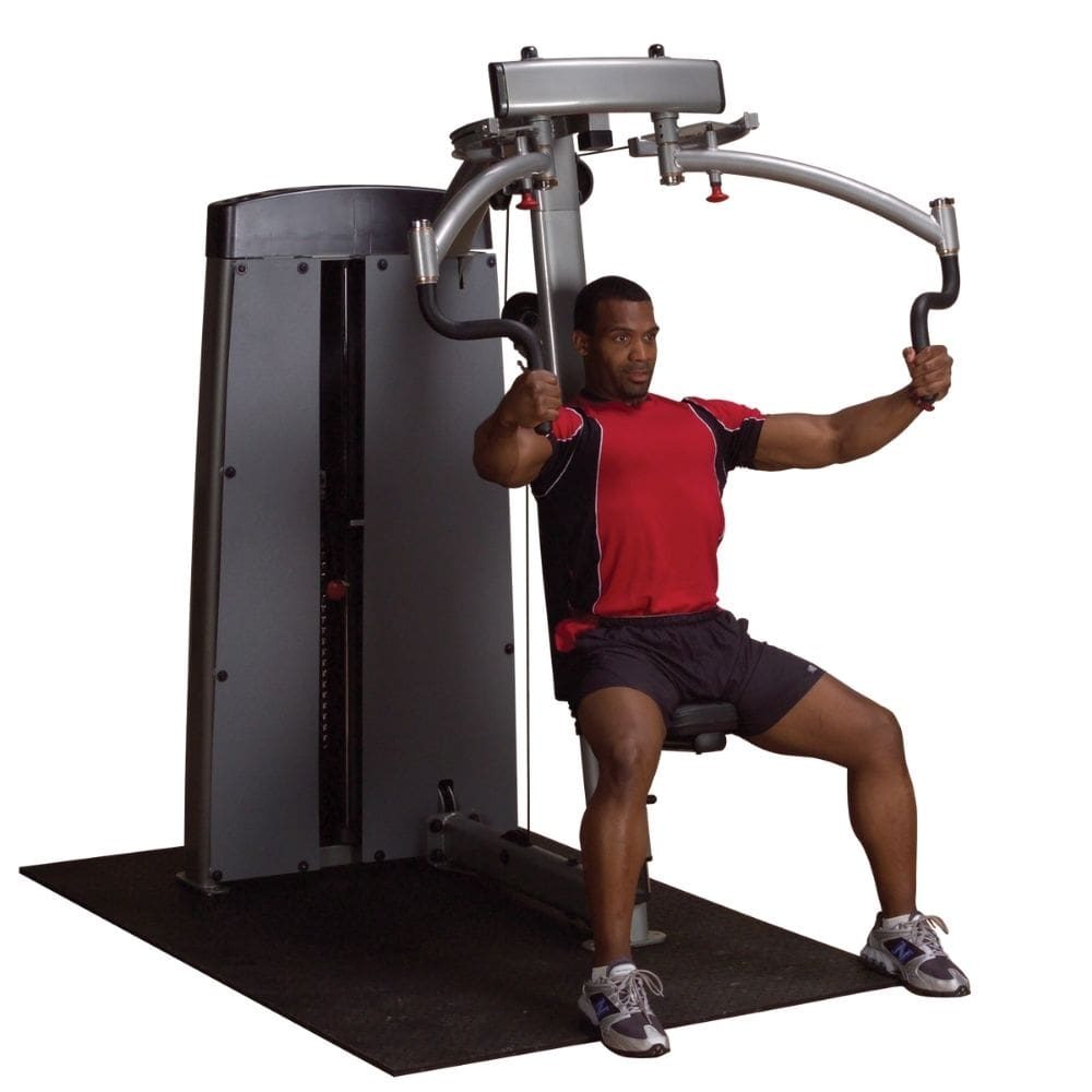 Body-Solid Pro Dual DPEC-SF Commercial Pec Fly and Rear Delt Machine 3D View