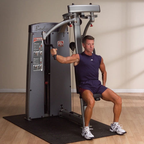 Image of Body-Solid Pro Dual DPEC-SF Commercial Pec Fly and Rear Delt Machine Arm Fly